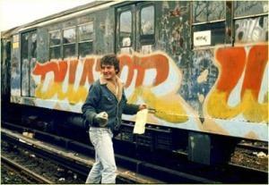 """Artista """"Duster"""", NYC, 1983"""