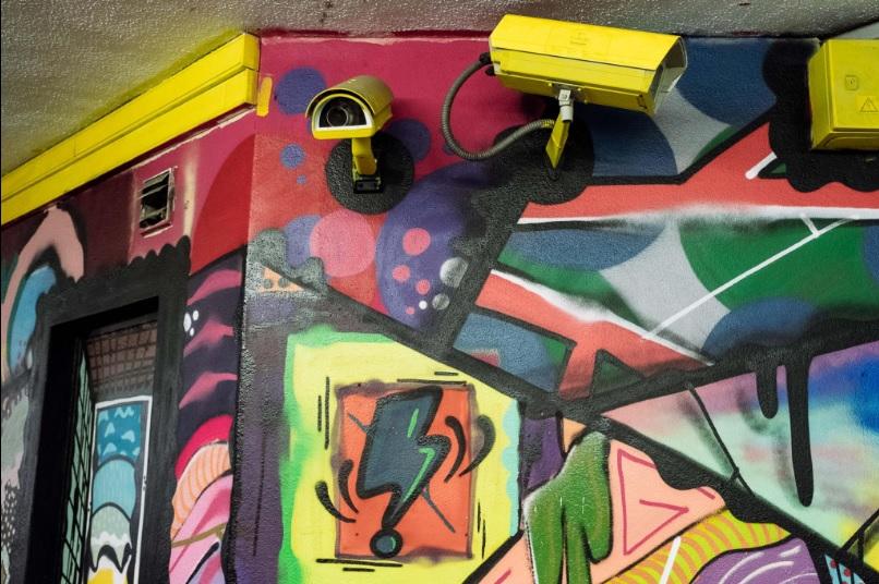 graffiti estação algés