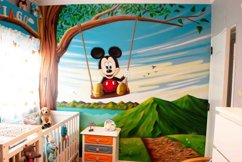 graffiti quarto criança @miudo.arte