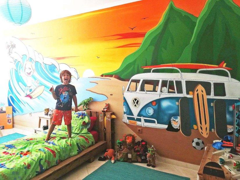 Graffiti quarto criança @miúdo.arte